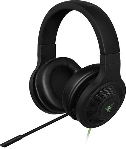 Razer - Kraken Over-the-Ear Gaming Headset - Black