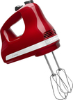 KitchenAid - 5-Speed Hand Mixer - Empire Red