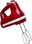 KitchenAid - 5-Speed Hand Mixer - Red