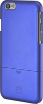 Platinum - Protective Case and Holster for Apple® iPhone® 6 - Navy Blue