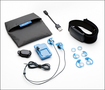 Pear Sports - Pear Pro Personal Training System for Apple® iPod® shuffle - Black/Blue