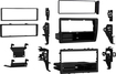 Metra - Stereo Installation Kit for Select Honda Civic Vehicles - Black