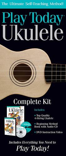 Hal Leonard - Play Ukulele Today! Ukulele Kit - Multi
