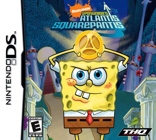 SpongeBob's Atlantis SquarePantis - Nintendo DS
