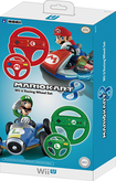 Hori - Mario Kart 8 Racing Wheel Set for Nintendo Wii U - Red/Green