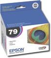 Epson - 79 3-Pack High-Yield Ink Cartridges - Black/Cyan/Magenta
