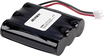 Jensen - 3.6-Volt NiMH Battery for Select Cordless Phones - Black