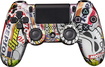 Evil Controllers - Steel Sticker Bomb Master Mod Wireless Controller for PlayStation 4 - Steel