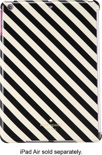 kate spade new york - Snap-On Case for Apple® iPad® Air - Black/Cream