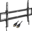 "Dynex™ - Low-Profile Tilting TV Wall Mount for Most 32"" - 70"" Flat-Panel TVs - Black"