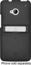 Platinum Series - Kickstand Case for HTC One Cell Phones - Black