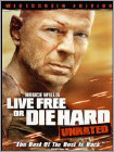 Live Free or Die Hard (DVD) (Unrated) (Enhanced Widescreen for 16x9 TV) (Eng/Fre/Spa) 2007