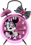 Disney - Minnie Mouse Analog Alarm Clock - Pink