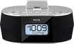 iHome - Dual Charging Stereo FM Clock Radio - Black/Silver