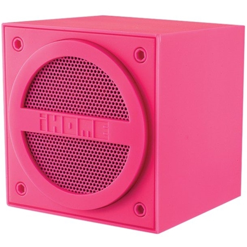 iHome - Portable Bluetooth Speaker - Pink
