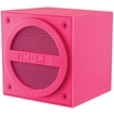 iHome - Bluetooth Rechargeable Mini Cube Speaker for Most Bluetooth-Enabled Devices - Pink