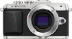 Olympus - E-PL7 Mirrorless Camera (Body Only) - Silver