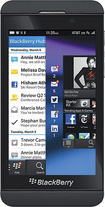 BlackBerry - Z10 4G LTE Cell Phone - Black (AT&T)