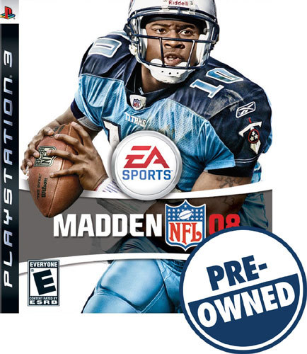 PO PS3-MADDEN NFL 08 8556305