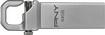 PNY - Metal Hook 64GB USB 2.0 Flash Drive - Silver