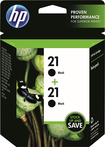 HP - 21 2-Pack High-Yield Ink Cartridges - Black