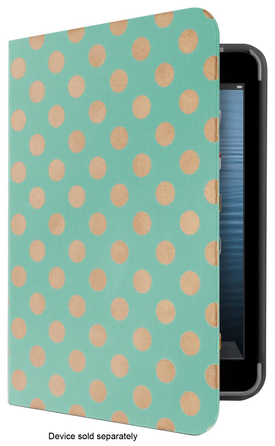 Belkin - FormFit Coverlet for Apple® iPad® mini and iPad mini with Retina display - Teal/Tan