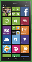 Nokia - Lumia 1520 4G Cell Phone - Green (AT&T)