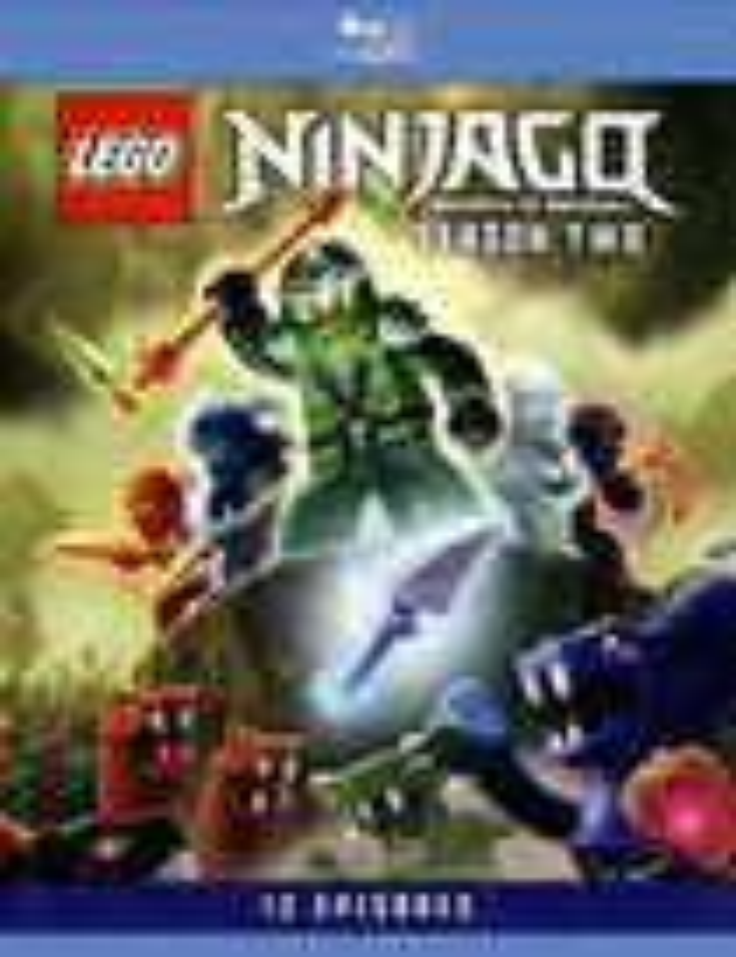 Lego Ninjago: Masters Of Spinjitzu - Season Two [2 Discs] [blu-ray] 8578045