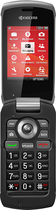 PayLo by Virgin Mobile - Kyocera Kona No-Contract Cell Phone - Black