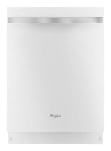 Whirlpool - Gold 24 Built-In Dishwasher with Stainless Steel Tub - White Ice