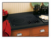 """Ge Appliance - 21"""" Built-in Electric Cooktop - Black"""