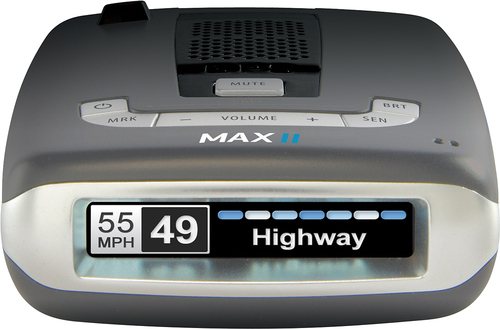 Escort - Passport Max2 Radar and Laser Detector - Black