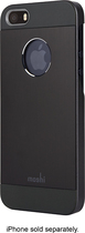 Moshi - iGlaze Armour Case for Apple® iPhone® 5 and 5s - Black