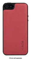 Knomo - Molded Open Face Case for Apple® iPhone® 5 and 5s - Teaberry