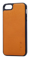 Knomo - Molded Open Face Case for Apple® iPhone® 5 and 5s - Burnt Orange