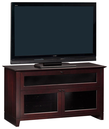 BDI - Novia A/V Cabinet for Most Flat-Panel TVs Up to 55 - Cocoa