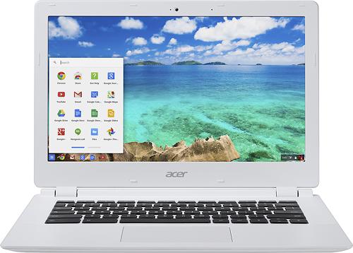 Acer - 13.3 Chromebook - Nvidia Tegra K1 - 2GB Memory - 16GB Flash Memory - Moonstone White