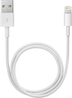 Apple® - 1.6' Lightning-to-USB Cable - White