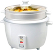 CuiZen - 8-Cup Rice Cooker with Steamer Tray