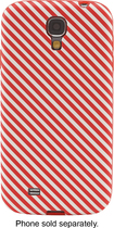 Dynex™ - Case for Samsung Galaxy S 4 Cell Phones - Red/White