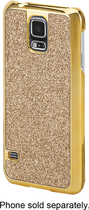 Dynex™ - Case for Samsung Galaxy S 5 Cell Phones - Gold