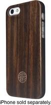 Reveal - Zen Garden Wooden Case for Apple® iPhone® 5 and 5s - Dark Wood