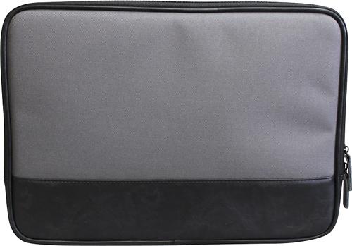 """PKG - Slip Sleeve for 13"""" Apple® MacBook® Pro - Gray/Black"""