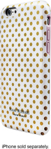 Isaac Mizrahi New York - Mini Dot Case for Apple® iPhone® 6 - White/Gold