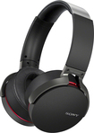 Sony - Extra Bass Over-the-Ear Bluetooth Headphones - Black