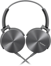 Sony - On-Ear Headband Headset - Gray