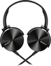 Sony - Lightweight On-Ear Headband Headset - Black