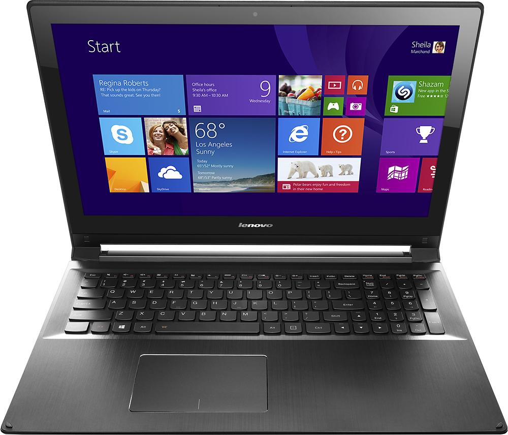 "Lenovo - Edge 15 2-in-1 15.6"" Touch-Screen Laptop - Intel Core i7 - 8GB Memory - 1TB Hard Drive - Black"