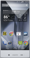Sharp - Aquos Cell Phone - Crystal Black (Sprint)