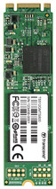 Transcend - MTS800 M.2 512GB Internal SATA III Solid State Drive for Laptops - Black